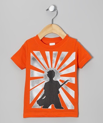 Orange Rockstar Tee - Infant, Toddler & Boys