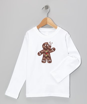 White Gingerbread Man Tee - Infant, Toddler & Boys