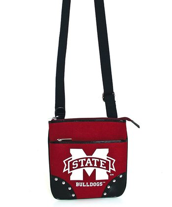 Mississippi State Bulldogs Studded Crossbody Bag