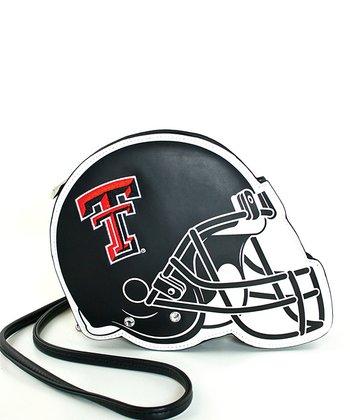 Texas Tech Red Raiders Football Helmet Shoulder Bag