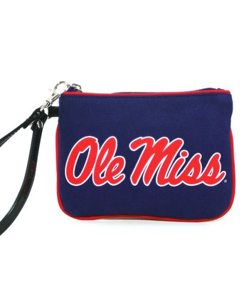 Ole Miss Rebels Wristlet