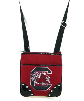 South Carolina Gamecocks Studded Crossbody Bag