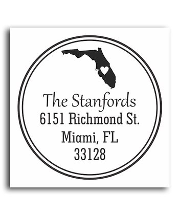 Florida Classic Personalized Self-Inking Stamp