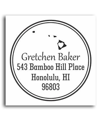 Hawaii Classic Personalized Self-Inking Stamp