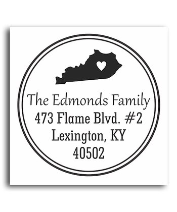 Kentucky Classic Personalized Self-Inking Stamp