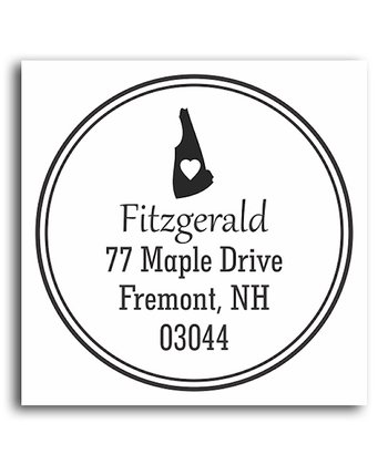 New Hampshire Classic Personalized Self-Inking Stamp
