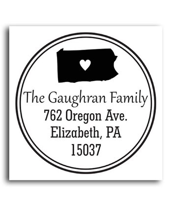 Pennsylvania Classic Personalized Self-Inking Stamp