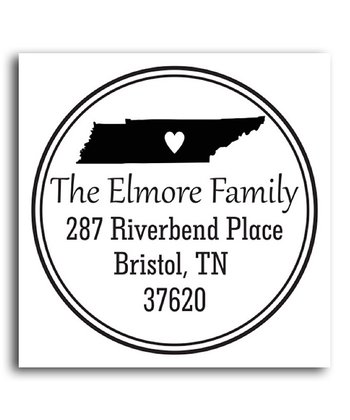 Tennessee Classic Personalized Self-Inking Stamp