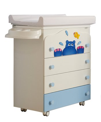 Hippo Baby Bath Changing Table