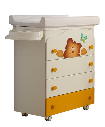 Lion Baby Bath Changing Table