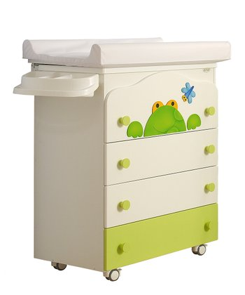 Frog Baby Bath Changing Table