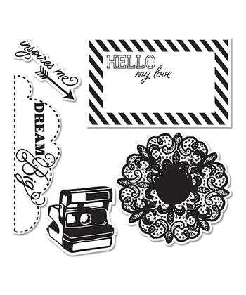 Echo Park Paper Co. Everyday Eclectic Framelits Die & Stamp Set