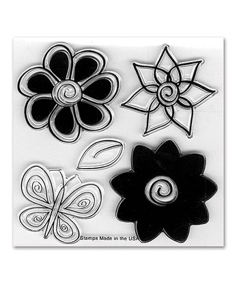 Stephanie Barnard Flowers Framelits Die & Stamp Set