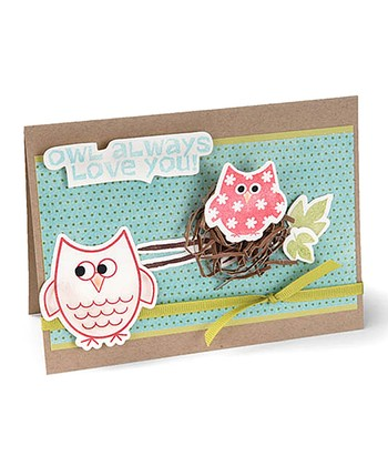 Stephanie Barnard Autumn Owls Framelits Die & Stamp Set