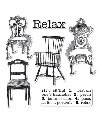 Hampton Art Chairs Framelits Die & Stamp Set