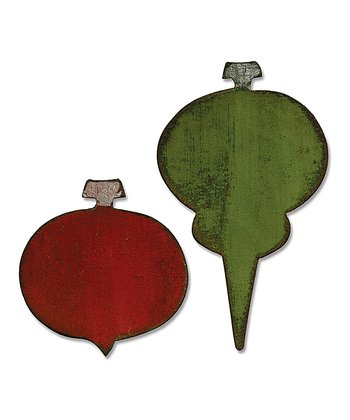 Tim Holtz Ornaments Movers & Shapers Magnetic Die