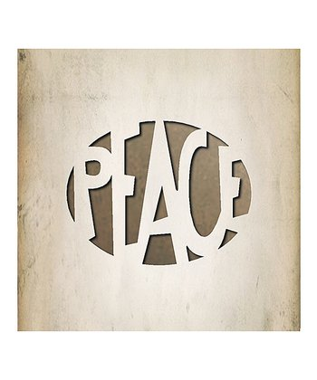 Tim Holtz 'Peace' Movers & Shapers Magnetic Die