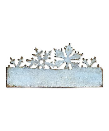 Tim Holtz Snow Flurries on the Edge Die