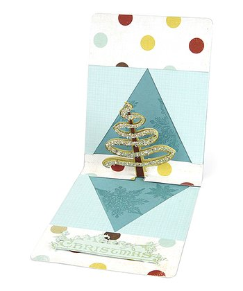 Karen Burniston Ribbon Tree Pop 'n' Cuts Magnetic Insert Die