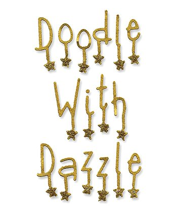 Emily Humble Dazzling Alphabet Sizzlits Decorative Strip Die Set