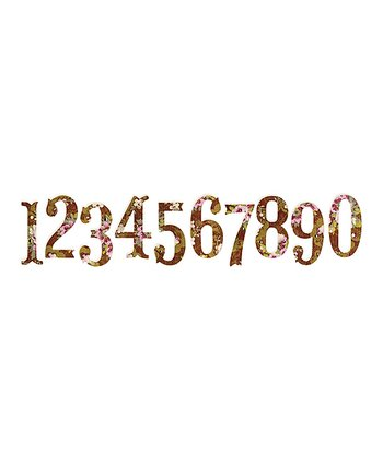 Brenda Walton Antiqua Numbers Sizzlits Decorative Strip Die Set