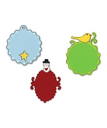 Dena Designs Christmas Tag Sizzlits Die Set