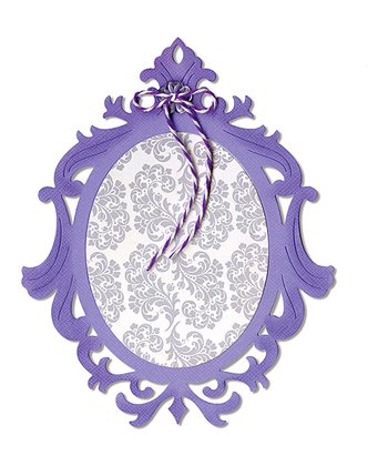 Jen L.P. Ornate Oval Frame Thinlits Die
