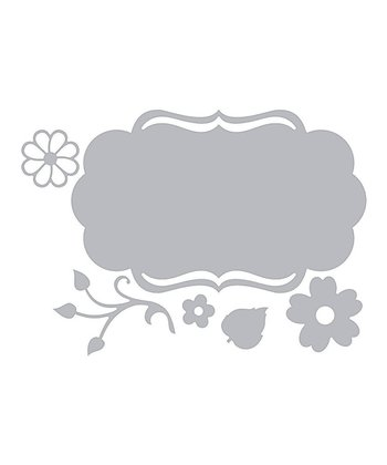 Rachael Bright Fancy Label & Flower Thinlits Die Set
