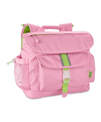 Pink Signature Large Backpack