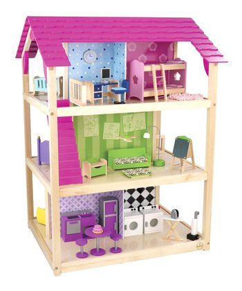 So Chic Dollhouse Set
