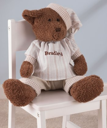 Chocolate Personalized Naptime Teddy Bear