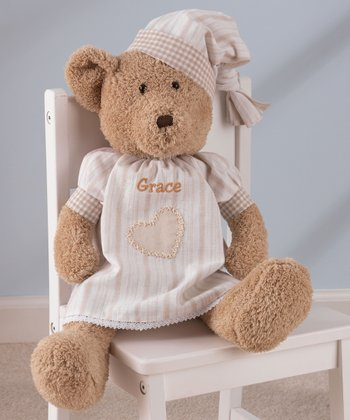 Light Brown Personalized Naptime Teddy Bear