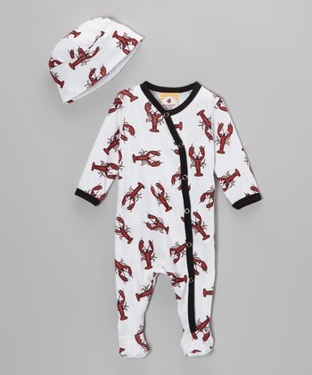 Louie the Lobster Footie & Beanie - Infant