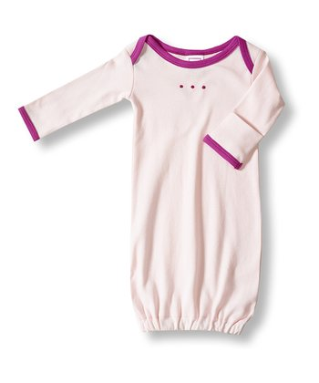 Very Berry Long-Sleeve Gown - Infant