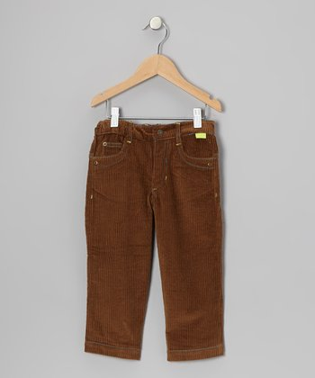 Brown Soft Corduroy Pants - Infant, Toddler & Boys