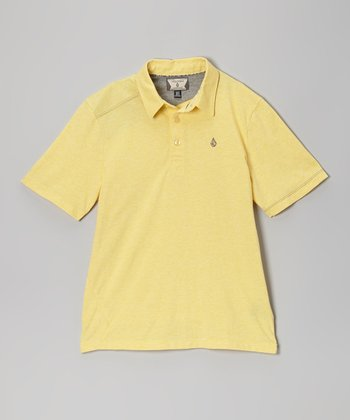 Yellow Polo - Boys