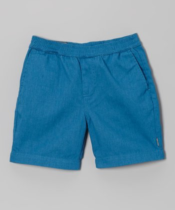 Light Blue Shorts - Toddler & Boys