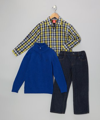 Blue Pullover Set - Toddler & Boys