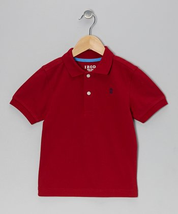 Rio Red Piqué Polo - Boys