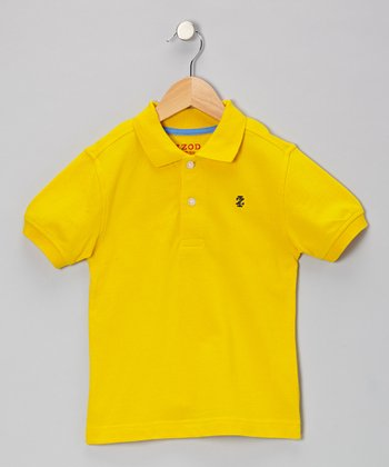 Bright Sun Piqué Polo - Boys