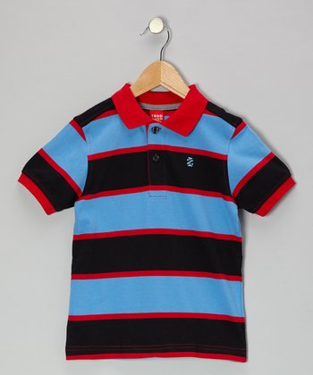 Tango Stripe Jersey Polo - Toddler & Boys