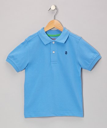 Wave Runner Piqué Polo - Boys