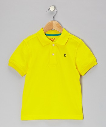Freesia Piqué Polo - Boys