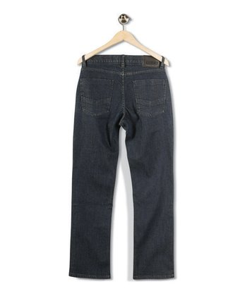 Stone Wash Straight-Leg Jeans - Boys