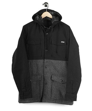 Black & Grey Gothenburg Jacket - Boys