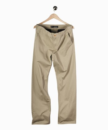 Khaki Pay Day Chino Pants - Boys