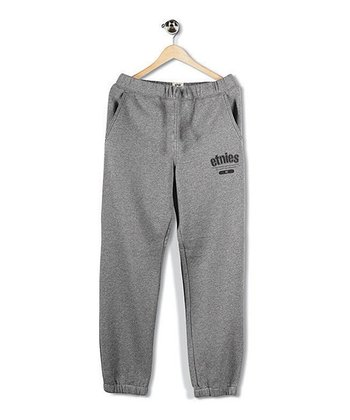 Heather Gray Coach Carter Sweatpants - Boys