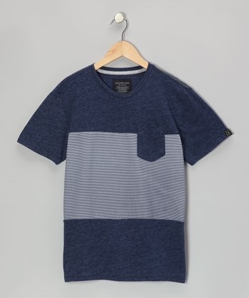 Retro Heather Color Block Tee - Toddler