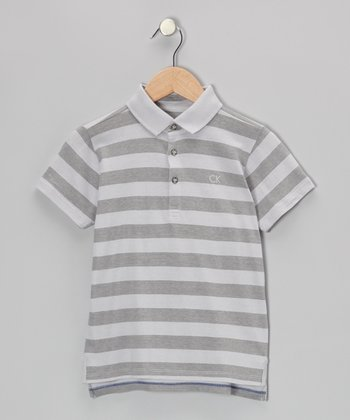 Chrome Feeder Stripe Polo - Infant