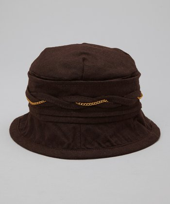 Brown Bucket Hat